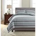 Ashley (Signature Design) Bedding Sets Queen Asante Multi Duvet Cover Set - Item Number: Q329003Q
