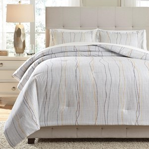 Signature Design by Ashley Bedding Sets King Bevan Multi Comforter Set