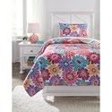 Signature Design Bedding Sets Twin Alexei Quilt Set - Item Number: Q345001T