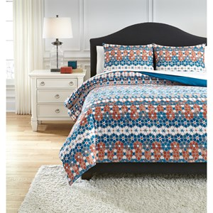 Signature Design by Ashley Bedding Sets King Jackalyn Multi Comforter Set