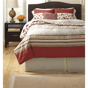 Signature Design by Ashley Bedding Sets Queen Cayenne Rouge Top of Bed Set