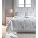 Signature Design by Ashley Bedding Sets Full Lucille Multi Coverlet Set - Item Number: Q384003F