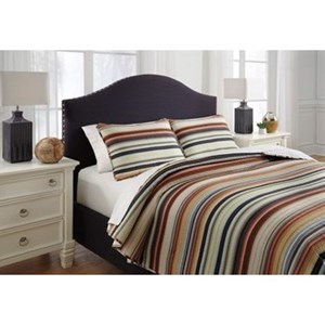 Signature Design by Ashley Bedding Sets Queen Wiley Multi Quilt Set