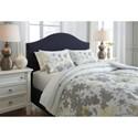 Signature Design by Ashley Bedding Sets King Maureen Gray/Yellow Comforter Set