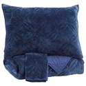 Signature Design by Ashley Bedding Sets King Linette Blue Quilt Set