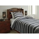 Signature Design by Ashley Bedding Sets Full Merlin Coverlet Set - Item Number: Q420003F