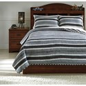 Signature Design by Ashley Bedding Sets Full Merlin Coverlet Set