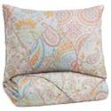 Signature Design by Ashley Bedding Sets Twin Jessamine Pink/Orange Coverlet Set