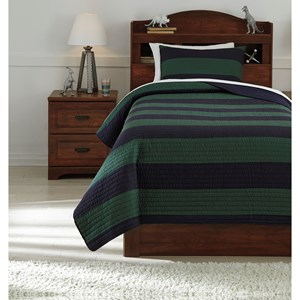 Signature Design by Ashley Bedding Sets Twin Reggie Coverlet Set
