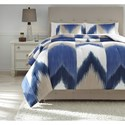 Signature Design by Ashley Bedding Sets Queen Mayda Comforter Set - Item Number: Q424003Q