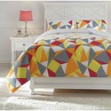 Signature Design Bedding Sets Full Maxie Multi Comforter Set - Item Number: Q430003F