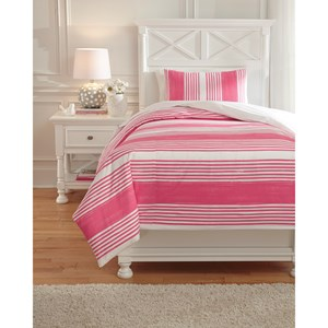 Twin Taries Pink Duvet Cover Set