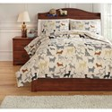 Signature Design by Ashley Bedding Sets Full Howley Multi Duvet Cover Set - Item Number: Q731003F