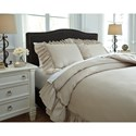 Signature Design by Ashley Bedding Sets King Clarksdale Natural Duvet Covet Set