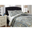 Signature Design by Ashley Bedding Sets King Soliel Multi Duvet Cover Set