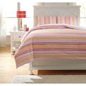 Ashley (Signature Design) Bedding Sets Full Genista Multi Duvet Cover Set - Item Number: Q741003F