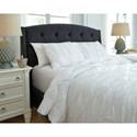 Signature Design by Ashley Bedding Sets King Rimy White Comforter Set