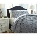 Signature Design by Ashley Bedding Sets King Rimy Gray Comforter Set