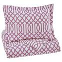 Signature Design by Ashley Bedding Sets Twin Loomis Lavender Comforter Set