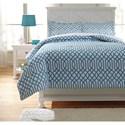 Ashley (Signature Design) Bedding Sets Full Loomis Aqua Comforter Set - Item Number: Q758033F