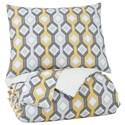 Signature Design by Ashley Bedding Sets King Mato Gray/Yellow/White Comforter Set