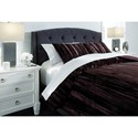 Signature Design by Ashley Bedding Sets Queen Wanete Wine Comforter Set