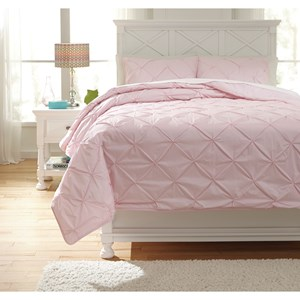 Signature Design by Ashley Bedding Sets Full Medera Rose Comforter Set