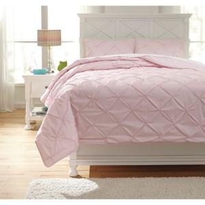 Signature Design by Ashley Bedding Sets Full Medera Rose Comforter Set