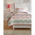 Ashley (Signature Design) Bedding Sets Twin Lacentera Quilt Set - Item Number: Q769001T