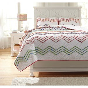 Signature Design by Ashley Bedding Sets Full Lacentera Quilt Set