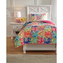Signature Design by Ashley Bedding Sets Twin Belle Chase Quilt Set - Item Number: Q770001T