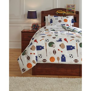 Signature Design by Ashley Bedding Sets Twin Varias Multi Comforter Set