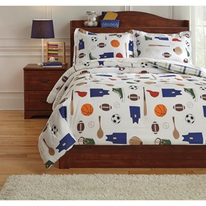 Signature Design by Ashley Bedding Sets Full Varias Multi Comforter Set