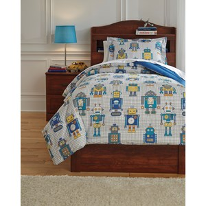 Signature Design by Ashley Bedding Sets Twin Machado Multi Comforter Set