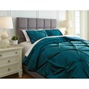 Signature Design by Ashley Bedding Sets Queen Meilyr Spruce Comforter Set
