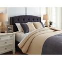 Signature Design by Ashley Bedding Sets King Medi Charcoal/Sand Comforter Set