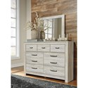 Signature Design by Ashley Bellaby Casual Dresser and Mirror Set