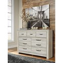 Signature Design by Ashley Bellaby Casual 7 Drawer Dresser