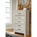 Signature Design by Ashley Bellaby Casual 5 Drawer Chest