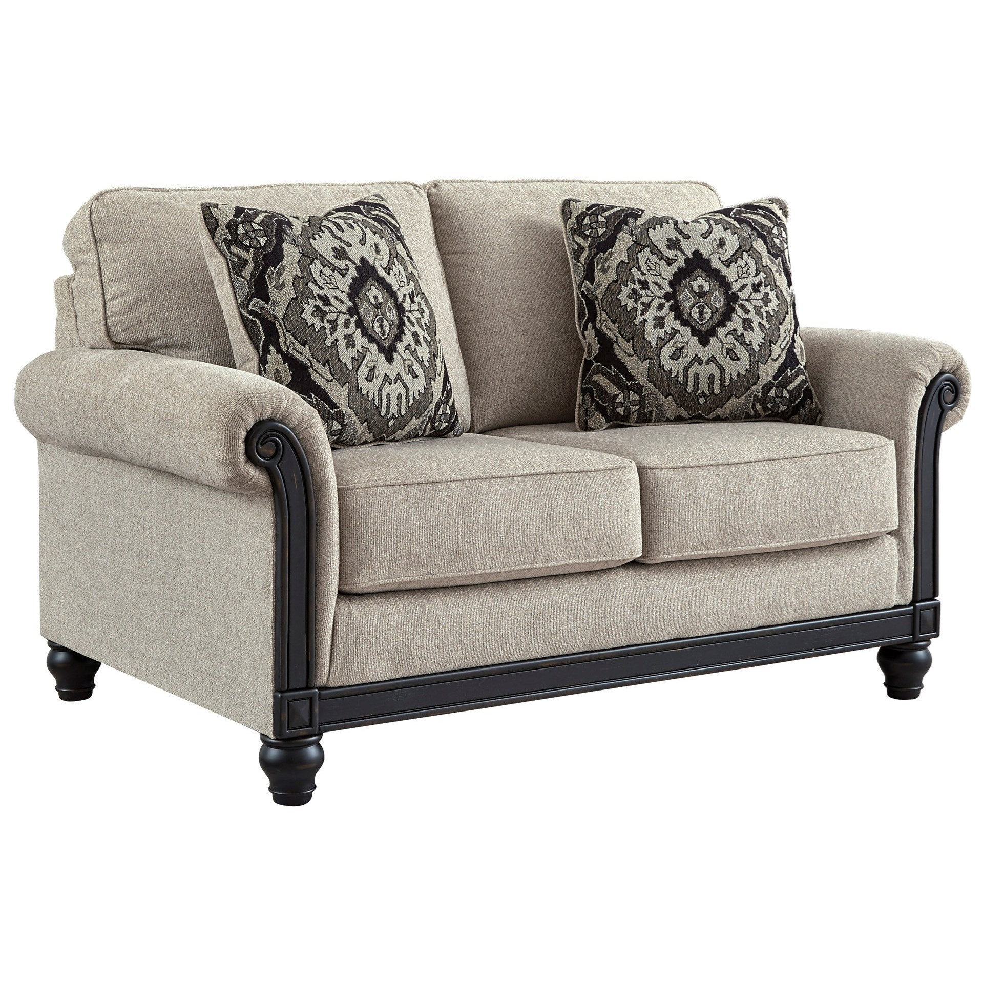 Brenna Loveseat by Signature at Walker's Furniture