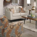 Signature Design by Ashley Benissa Contemporary Swivel Accent Chair