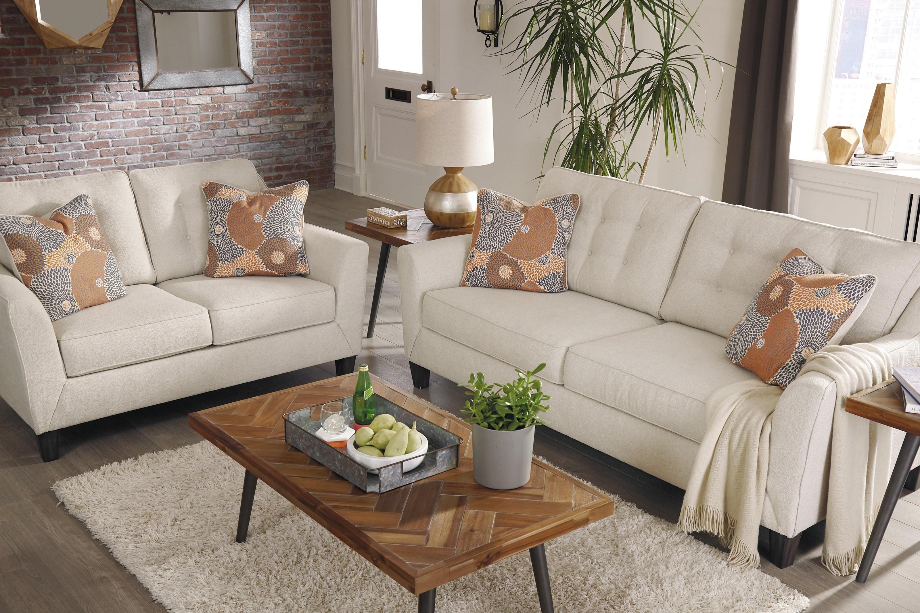 Benissa 6-Piece Living Room Set by Ashley Signature Design at Dunk & Bright  Furniture