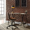 Signature Design by Ashley Bertmond Industrial Home Office Desk