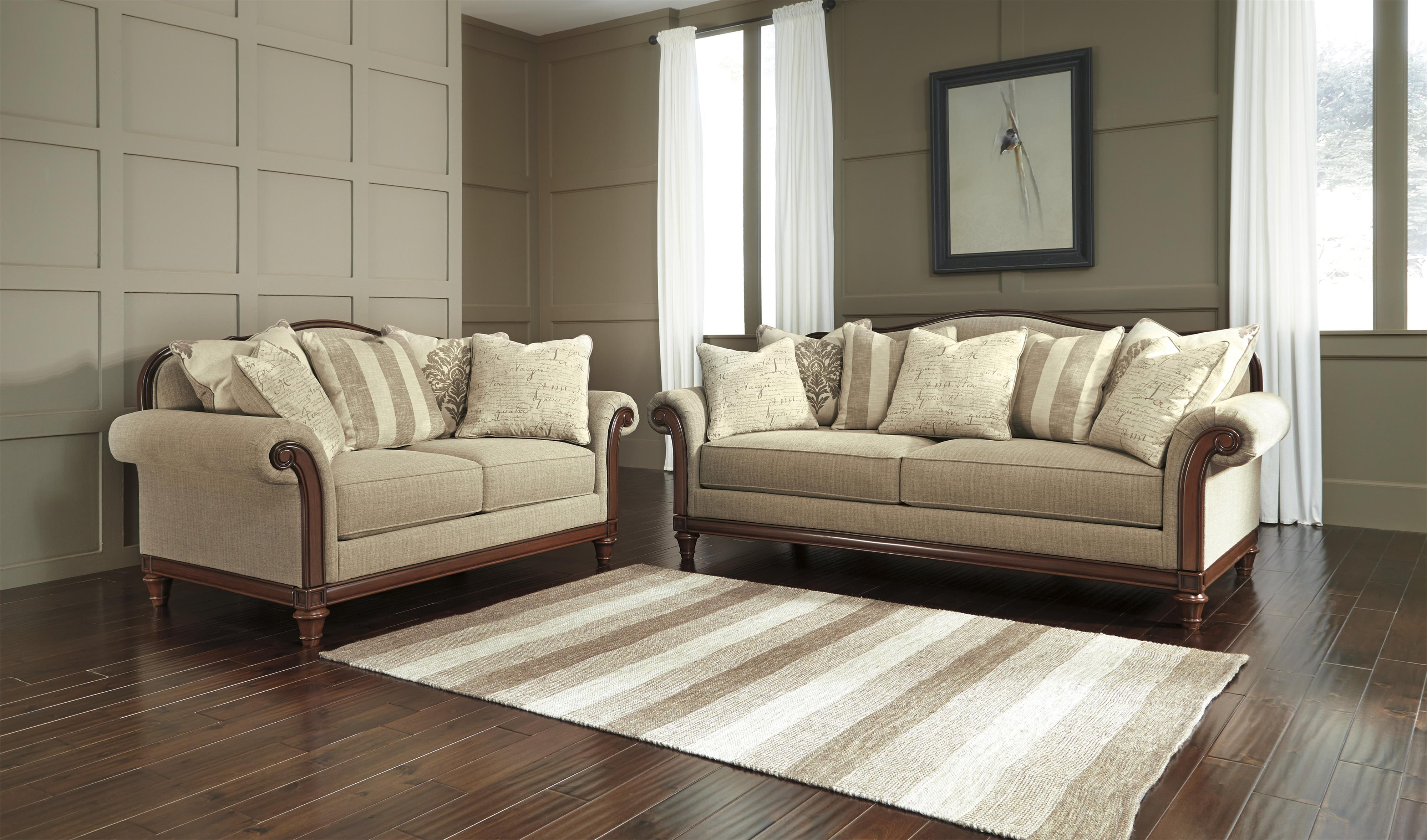 Signature Design by Ashley Berwyn View Stationary Living Room Group - Item Number: 89803 Living Room Group 1