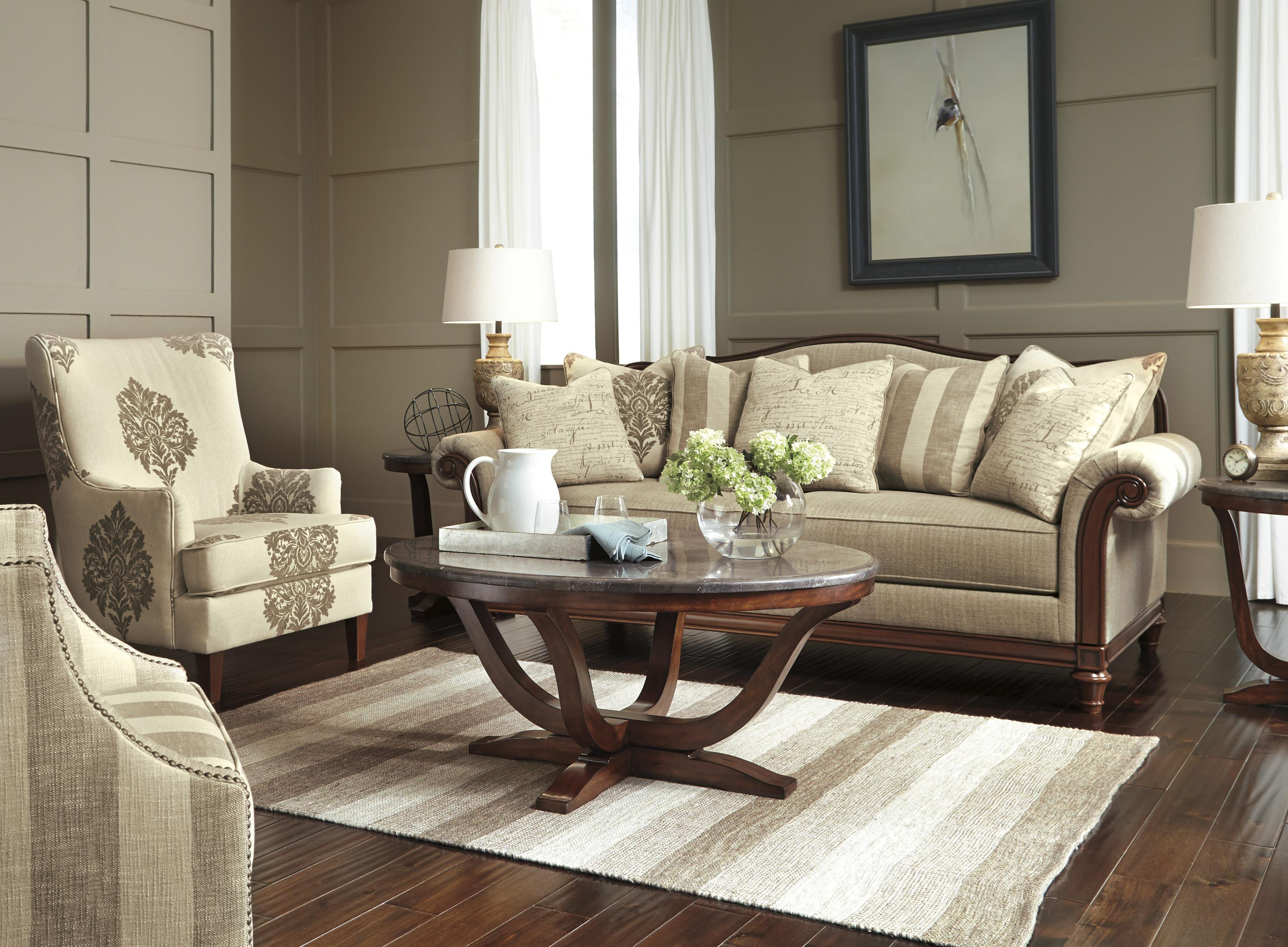 Signature Design by Ashley Berwyn View Stationary Living Room Group - Item Number: 89803 Living Room Group 2