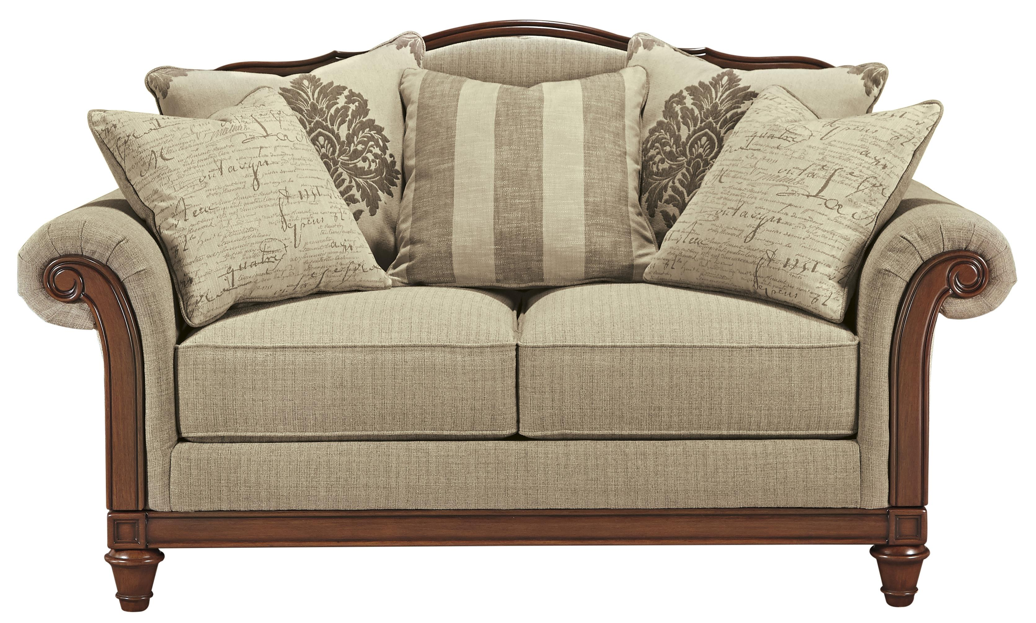 Signature Design by Ashley Berwyn View Loveseat - Item Number: 8980335