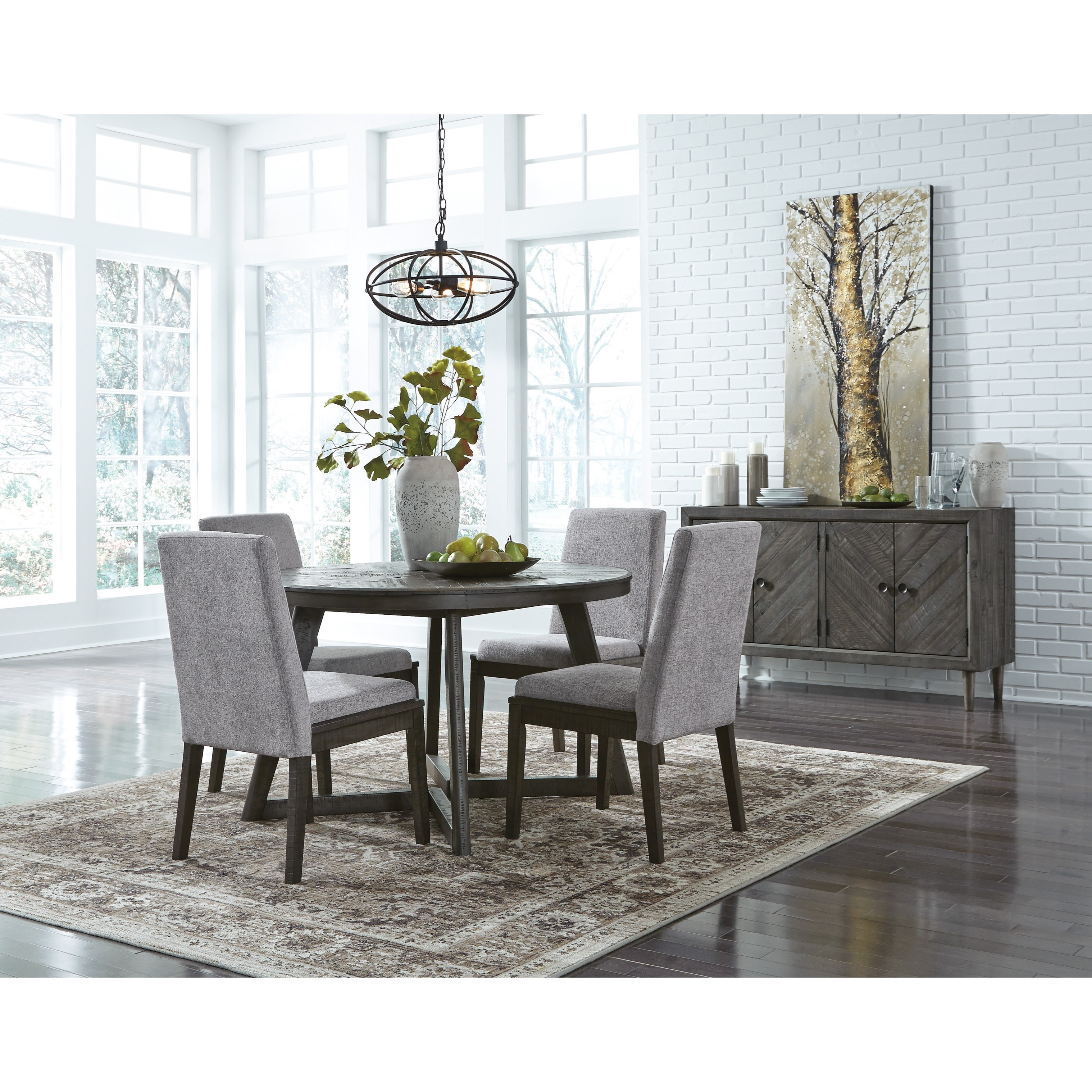 Signature Design By Ashley Besteneer Formal Dining Room