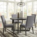 Signature Design by Ashley Besteneer Five Piece Chair & Table Set - Item Number: D568-50+4x01