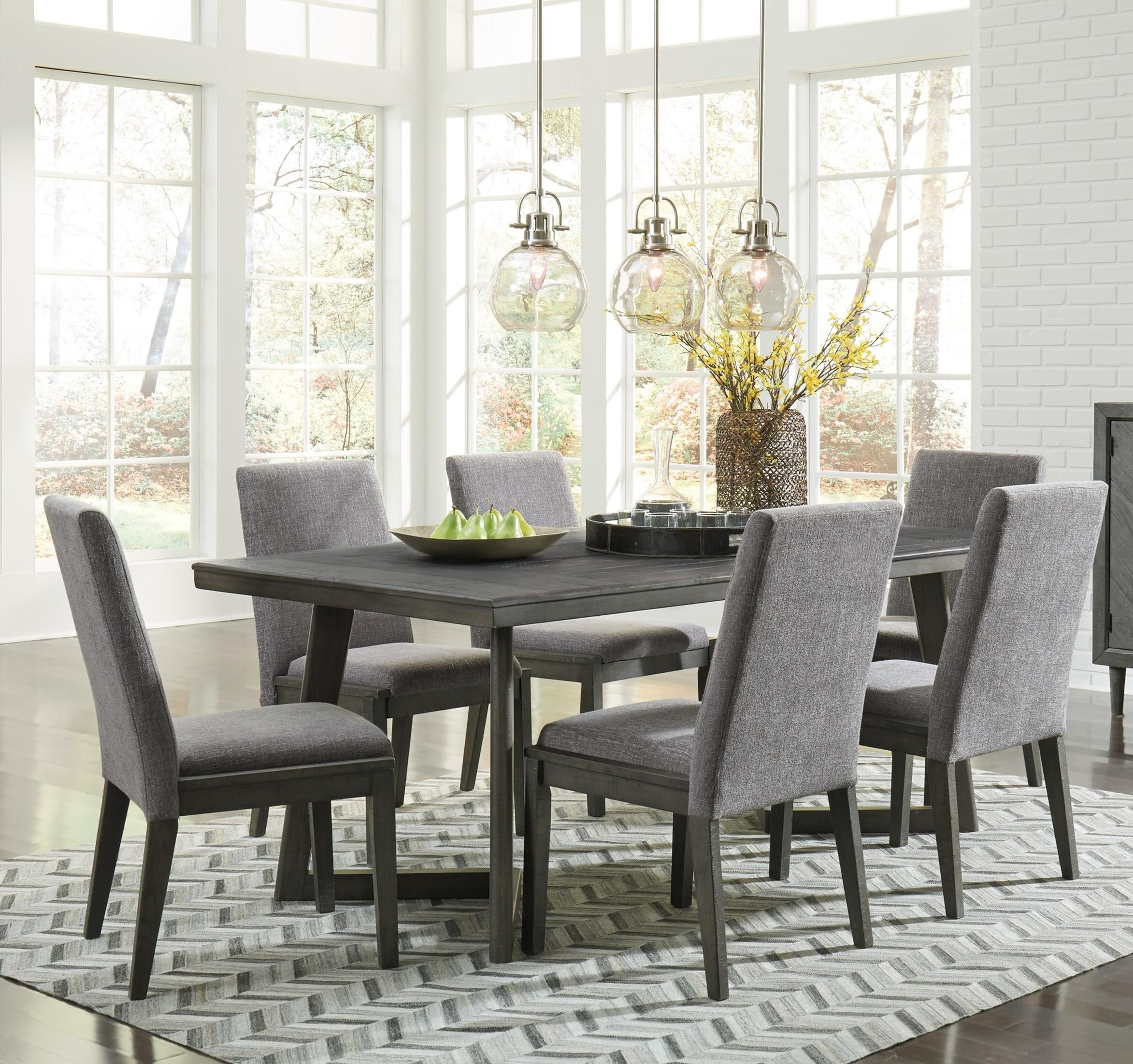 Signature Design By Ashley Besteneer Formal Dining Room: Signature Design By Ashley Besteneer D568-25+6x01