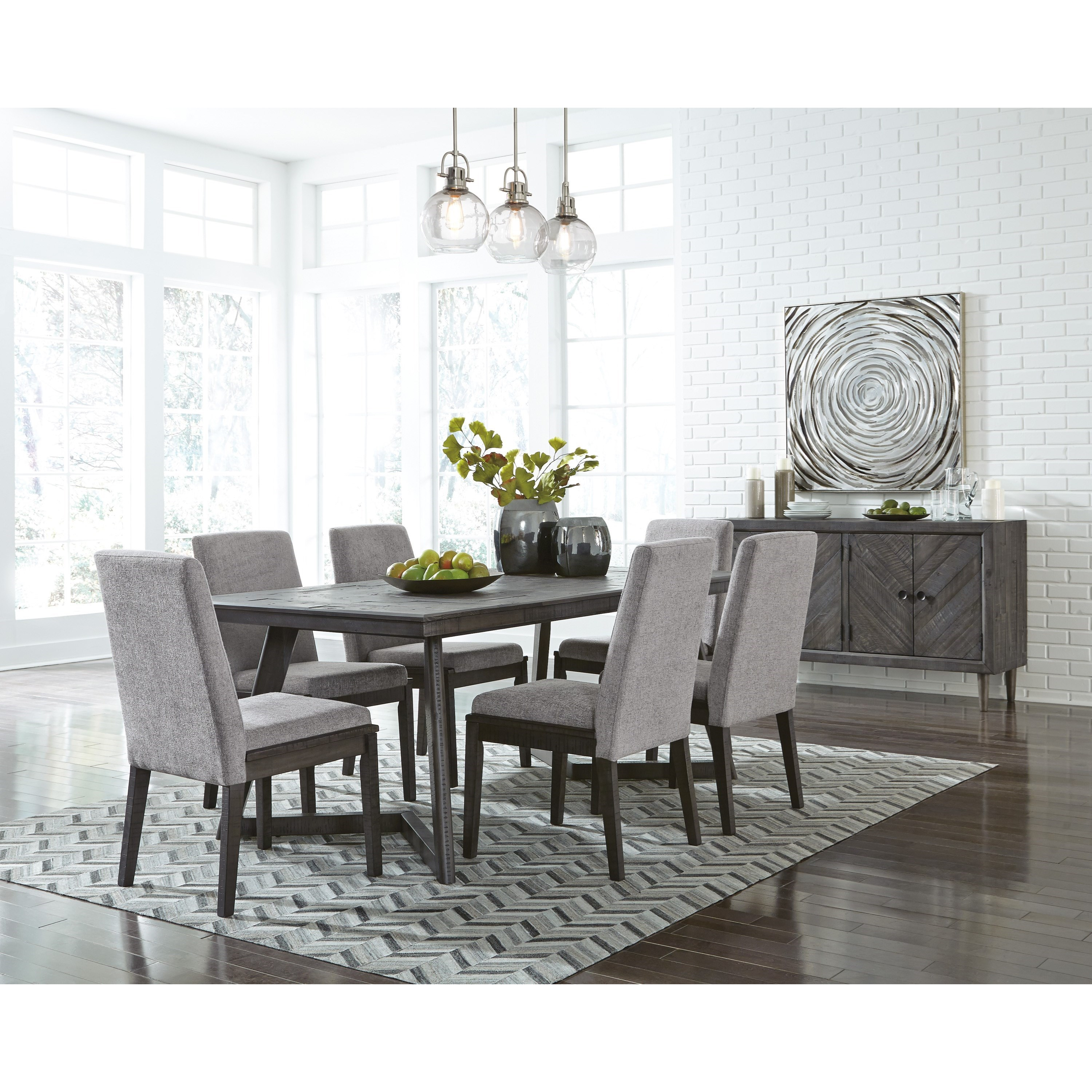 Signature Home Furnishings: Signature Design By Ashley Besteneer Contemporary Dining